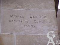 Le palais de Fervaques - Marcel Lebègue - Architecte D.P.L.G. 1925
