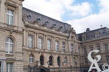 Le palais de Fervaques - La façade du Palais de Fervaques
