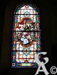 L'église - Un des vitraux