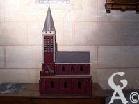 L'église - Maquette de l'église