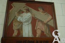 L'église - Peinture de Gabriel Girodon, Grand prix de Rome.
