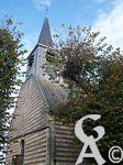 L'église d'Aisonville - Vue extérieure