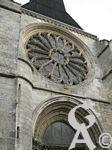La collégiale Saint Laurent - Rose