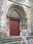 La collégiale Saint Laurent - Portail