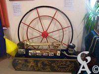Le touage de Riqueval - Le musée : outils du toueur