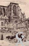 La Basilique en ruines - Place des Enfants de Chœur- le transept Louis XI construit de 1477 à 1500