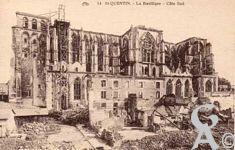 La Basilique en ruines - Côté sud