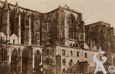La Basilique en ruines - Carte postale  Allemande