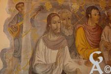 L'église - Une fresque