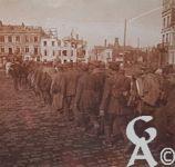 Photos pendant la Guerre - Prisonniers allemands.