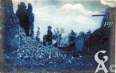 Le Tronquoy - Le hameau en ruines
