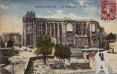 La Basilique en ruines - Vers 1926