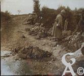 Pendant la guerre - Après la rafale.