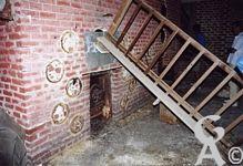 L'église - Le chauffage central sous l'église