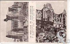 La Basilique en ruines - Avant et après la guerre