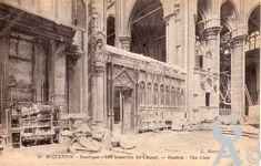 La Basilique en ruines - Les boiseries du chœur