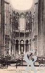 La Basilique en ruines - Le chœur en mars 1919