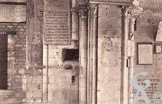 La Basilique en ruines - Les trous pour les mines