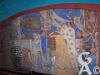 L'église - Procession de la Saint Jean- Emile Flamant