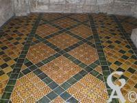 La cathédrale - Détails de la mosaïque de la cathédrale.