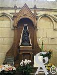 La cathédrale - La Vierge noire de la cathédrale de Laon.
