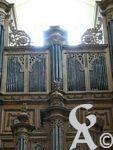 L'abbaye St Michel - L'église abrite en outre depuis 1714 un orgue remarquable, l'orgue historique de Jean Boizard, classé monument historique en 1950. D'après le chercheur Alain Gigot, l'église avait été classée dès 1837 et inscrite à l'inventaire supplémentaire des monuments historiques en 1927.