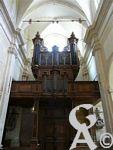 L'abbaye St Michel - L'orgue de Jean BOIZARD. Certains musicologues considèrent que cet instrument est le représentant typique de