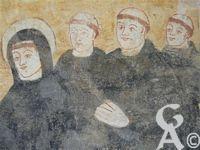 L'abbaye St Michel - Né vers 480 ou 490 dans la région de Nursie, Saint Benoît se rendit à Rome pour suivre des études littéraires.