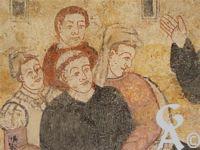 L'abbaye St Michel - Les peintures de l'abbaye de Saint Michel semblent être inspirées de ces gravures.