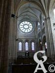 L'abbaye St Michel - Ses vitraux