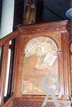 L'église - La chaire : détail
