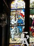 Le Temple - Les vitraux ont été réalisés par David et Eugène Burnand.