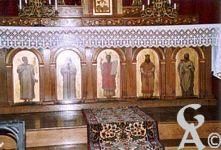 L'église - Le maître -autel en chène