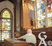Le Temple - L'orgue a été construit à la même époque (1923) que le bâtiment par la maison Haerpfer de Boulay (Moselle). Les 9 jeux sont répartis sur deux claviers manuels et un pédalier.