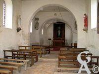 L'église - Du faubourg de Leuilly, commune de Laon.
