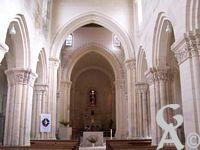 L'église - Vue de la nef