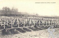 Le cimetière militaire - De Crouy - Vauxrot
