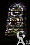 La chapelle des patriotes - Un ensemble remarquable de vitraux, conçus dès l'origine par l'atelier Bazin du Mesnil-Saint-Firmin dans l'Oise, l'un des plus talentueux ateliers de vitrail du nord de la France dans la seconde moitié du 19e siècle, et réalisés en deux campagnes, 1854 et 1872.