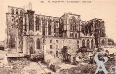 Les rues en ruines - La Basilique côté sud