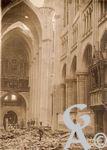 Les rues en ruines - Intérieur de la Basilique