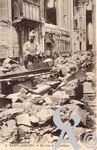 Les rues en ruines - Un coin de la Basilique