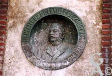 Documents divers - Médaillon d'Emile Billon. Sénateur de la ville de Saint Quentin.