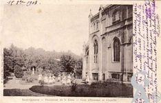 La chapelle du couvent des Dames de la Croix - Pensionnat de la Croix - Cour d 'Honneur et Chapelle.