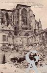 Les rues en ruines - Place des enfants de choeur - Transept de Louis XI de 1477 à 1500.