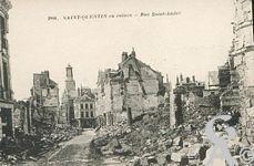Les rues en ruines - Rue Saint André