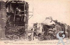 Les rues en ruines - La rue de Paris