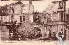 Les rues en ruines - Rue Raffinerie, la poste en ruines