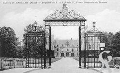 Le château - Propriété de S.A.S., Louis II, Prince Souverain de Monaco.