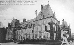 Le château - Bâti en 1551, par le Cardinal Charles de Lorraine - Façade nord.