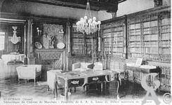 Le château - Bibliothèque du château.